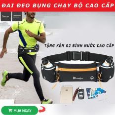 [HÀNG XỊN] Túi Đeo Hông Thể Thao Chống Nước Cho Nam Nữ, Túi Tập Gym Tập Thể Hình Túi Đeo Hông Chạy Bộ- TẶNG O2 BÌNH NƯỚC