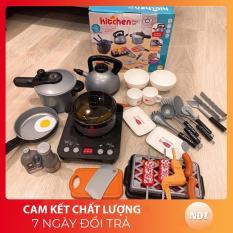 [GIÁ SỐC – ẢNH THẬT] Bộ đồ chơi nấu ăn nhà bếp mini Hitchen cho bé 36 chi tiết