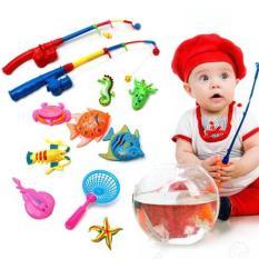 Bộ đồ chơi câu cá 2 cần vui nhộn cho bé