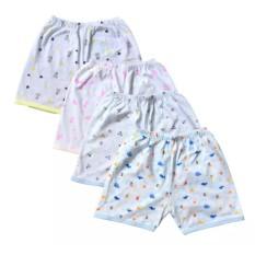 Quần đùi sơ sinh Họa Tiết In Tràn JOU mềm mại, dễ thương cho bé trai, bé gái( 100% Cotton Cao Cấp)
