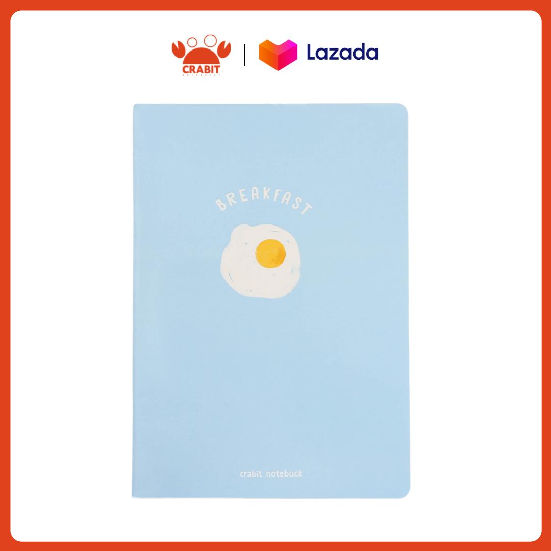 Vở kẻ ngang 80 trang Crabit – Fried Egg Trứng