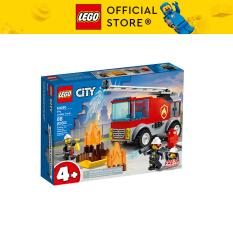 LEGO CITY 60280 Xe Thang Chữa Cháy ( 88 Chi tiết)