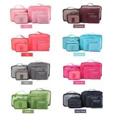 Bộ 6 túi đựng đồ trong valy đi du lịch