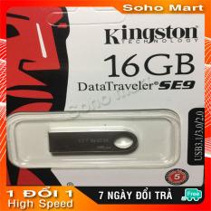 USB Kingston 3.0 DataTraveler SE9 16GB, Nhôm nguyên khối siêu bền soho mart