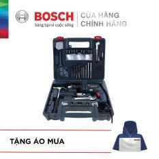Máy khoan động lực Bosch GSB 13 RE SET 100 chi tiết – Tặng Áo mưa Bosch