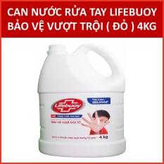 Nước rửa tay Lifebuoy Chuyên dụng Bảo vệ vượt trội 10 (Đỏ) 4KG (có xuất hóa đơn điện tử)