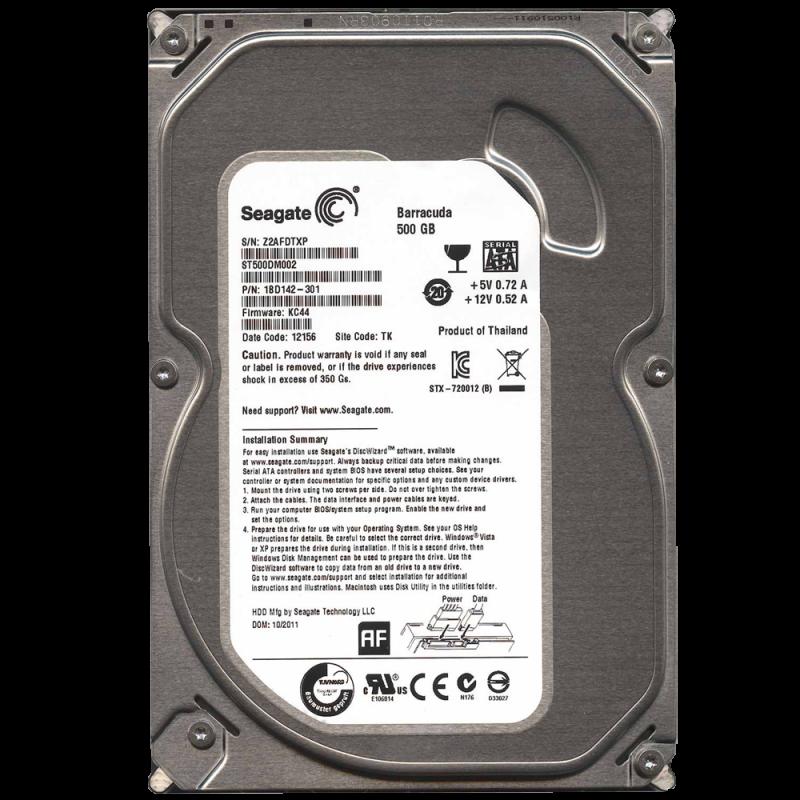 ổ cứng máy tinh bàn 500gb – hàng chuẩn tặng cáp sata + cài win theo yêu cầu