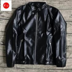 ÁO da nam cao cấp, áo da nam phong cách hàn quốc hót nhất 2019