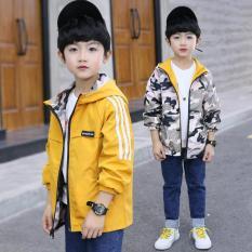 Áo khoác bé trai / áo khoác Kaki 2 mặt Rằn Ri (Hàng Xuất) – TrueKids