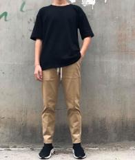 Quần Kaki Nam Xuông Sắn Gấu Phong Cách Teen, 4 Màu, Đủ Size, Đường May Tỉ Mỉ Tinh Tế, Form Chuẩn – Thời Trang Sakura MS092