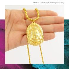 Dây Chuyền Phật Tổ Như Lai Mạ Vàng 24k Hộ Mệnh An Lạc DCP02