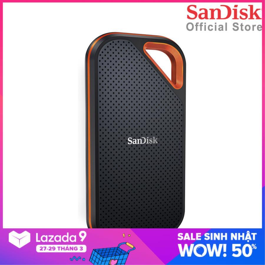 Ổ cứng di động External SSD Sandisk Extreme Pro V2 E81 1TB USB 3.2 Gen2 x2 SDSSDE81-1T00-G25