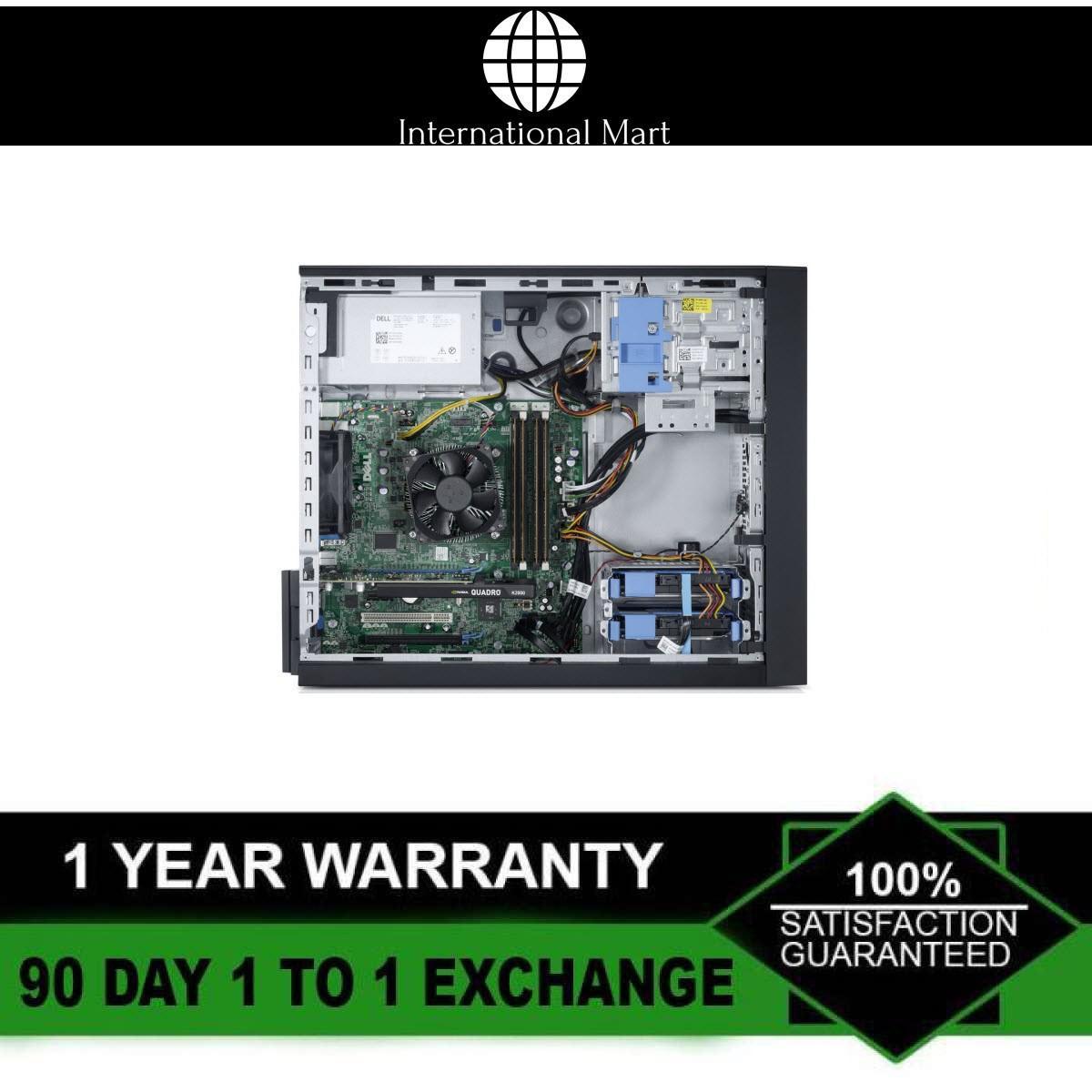 Máy Trạm Đồ Họa 3DDell Precision T1700 MT (CPU Xeon E3-1240 V3, Ram ECC 16GB, SSD 240GB, HDD 2TB, VGA...