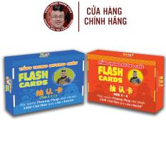 Flashcard – Combo Flashcard Tiếng Trung 12 và 34 – Flashcard 1500 chữ Hán – Phạm Dương Châu