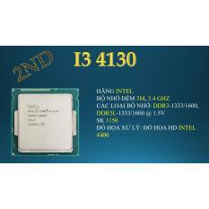 Bộ vi xử lý intel core i3 4130 3M bộ nhớ đệm, 3,40 GHz. Tặng Keo tản nhiệt.
