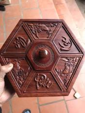 Hộp đựng bánh Kẹo bằng Gỗ Hương khảm Phúc – Lộc – Thọ — bảo hành sản phẩm