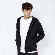 Áo khoác hoodie nam Delta màu đen HD001M0