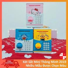 Két Sắt Mini Cho Bé Mẫu 2019 Được Chọn Màu