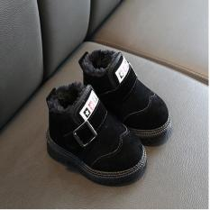 Giày trẻ em bé trai siêu ấm chất liệu sợ tổng hợp mền mại thoát mồ hôi, thoáng khí dành cho bé từ 1-7 tuổi