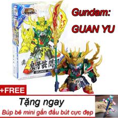 Đồ Chơi Lắp Ráp Mô Hình New4all Gundam Nhân Vật A006 Tướng Tam Quốc Diễn Nghĩa giá rẻ – Quan Vũ tặng kèm búp bê dễ thương