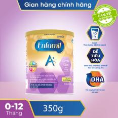 [FREESHIP 30K TOÀN QUỐC] [Dễ tiêu hóa và hấp thụ] Sữa bột Enfamil A+ Gentle Care 1 Infant Formula 350g dành cho trẻ 0-12 tháng – Cam kết HSD còn ít nhất 10 tháng