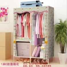 Hoàn Nếu Mua Được Tủ Vải Chất Lượng Bằng Mà Rẻ Hơn khung gỗ Bọc nhựa 2 buồng