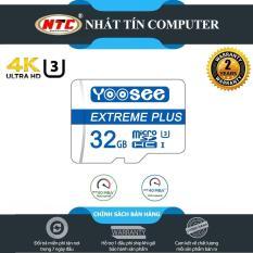 Thẻ nhớ MicroSDHC Yoosee Extreme Plus 32GB UHS-I U3 4K R90MB/s W40MB/s (Trắng xanh) – Nhất Tín Computer