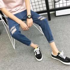 """"""" Quần JEAN nam phong cách Hàn quốc mã 806 Size 27-34, Đen 29 (giá tốt)"""""""