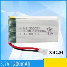 Pin 3.7v 1200mAh cổng XH2.54 dùng cho máy bay điều khiển loại X5, X5S, X5C,X5SW..dung lượng cao loại BH-905032