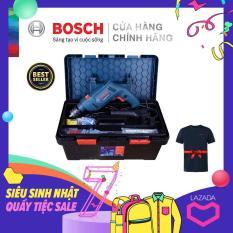 Bộ máy khoan động lực Bosch GSB 550 FREEDOM 90 chi tiết – Tặng Áo thun Bosch