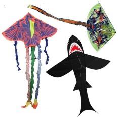 Đồ chơi diều thả ngoài trời cá mập, phượng hoàng, đại bàng nhiều mẫu cho bé