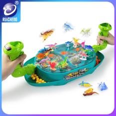 RUICHENG Đồ chơi bàn bắn bi khủng long cho trẻ em và phụ huynh tương tác chiến đấu, chất liệu abs an toàn cho bé – INTL