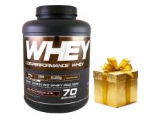 Thực phẩm bổ sung giúp tăng cơ Cor – performance Whey Molten Chocolate + Qùa tặng