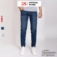 Quần Jean Nam 5S ( 2 màu), Vải Bò Mềm, Co Giãn Tốt, Phom Dáng Trẻ Trung, Lịch Sự (08)