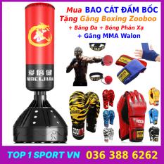 Bao Cát Trụ Đấm Bốc Boxing Olympic – Nhập Khẩu Nguyên Chiếc – Thiết bị tập luyện võ thuật giảm mỡ tăng cơ – Nâng cao thể lực và sức bền