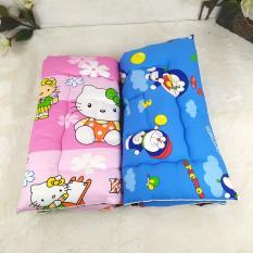 Nệm cotton cho bé kim home size lớn 75x130cm (Cho trẻ từ 1-7 tuổi)