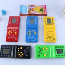 Máy chơi game cầm tay E 999 bằng nhựa sử dụng pin AA Brick Game