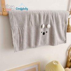 Khăn tắm/ chăn lông siêu mềm TinyLove 100% Coral velvet thấm hút nhanh, Size 70*140cm, hình dễ thương KT03