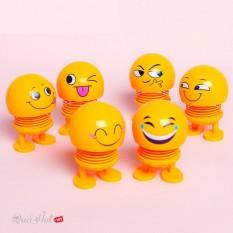 (mua 1 tặng 1 ) thú nhún lò xo , thú nhún emoji siêu cute nhiều mẫu và màu sắc ( giao mẫu ngẫu nhiên )