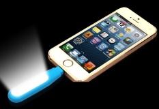 Đèn chụp hình selfie cung cấp ánh sáng N19 cho iPhone (Xanh biển)