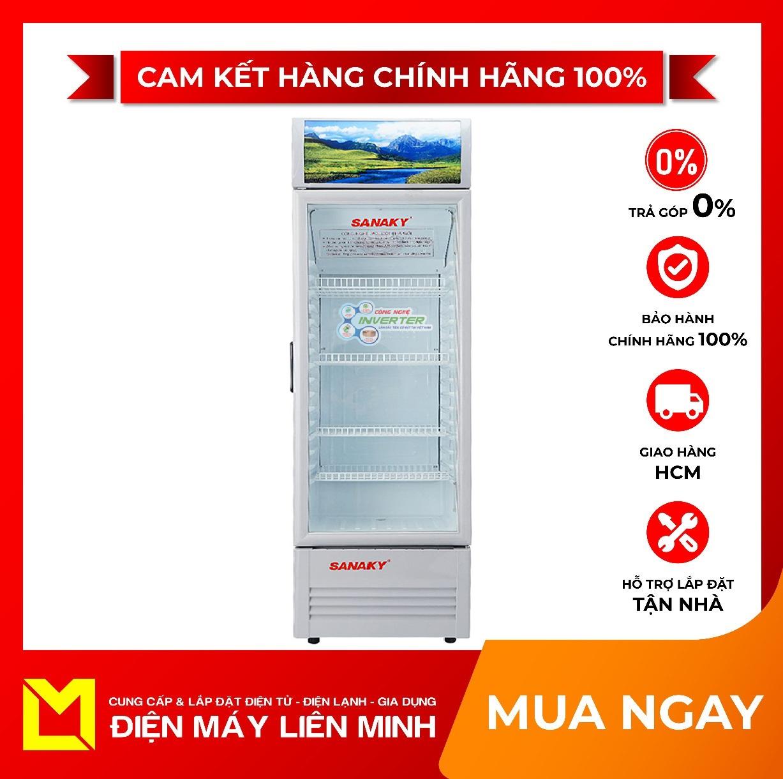 TRẢ GÓP 0% – Tủ mát Inverter Sanaky VH-258K3L 250 lít – Miễn phí vận chuyển HCM