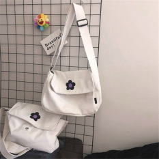 [Tặng Móc Khóa]Túi đeo chéo vải canvas nam nữ Hot Trend mang phong cách Hàn Quốc dễ phối đồ-DUHA SPORT
