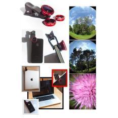 Lens Chụp Hình Điện Thoại 3 Trong 1 Hỗ Trợ Chụp Hình (Xả Kho)
