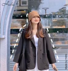 HIDRO Áo khoác blazer nữ 4 cúc