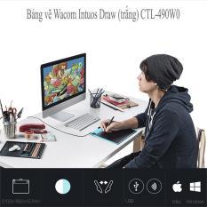 Bảng vẽ điện tử, Bảng vẽ Wacom Intuos Draw, Bảng vẽ điện tử, bảng vẽ cảm ứng, Công cụ đồ họa, Phụ kiện máy tính, Bảng vẽ máy tính – Thỏa sức niềm đam mê của bạn – Bảo hành 1 đổi 1 trong vòng 12 tháng, 1