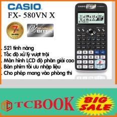 Máy tính Casio FX-580 VNX (trắng) bảo hành 7 năm