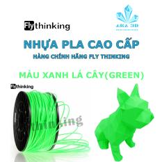 Nhựa PLA in 3D flythinking xanh lá cây, mực in 3d màu green.