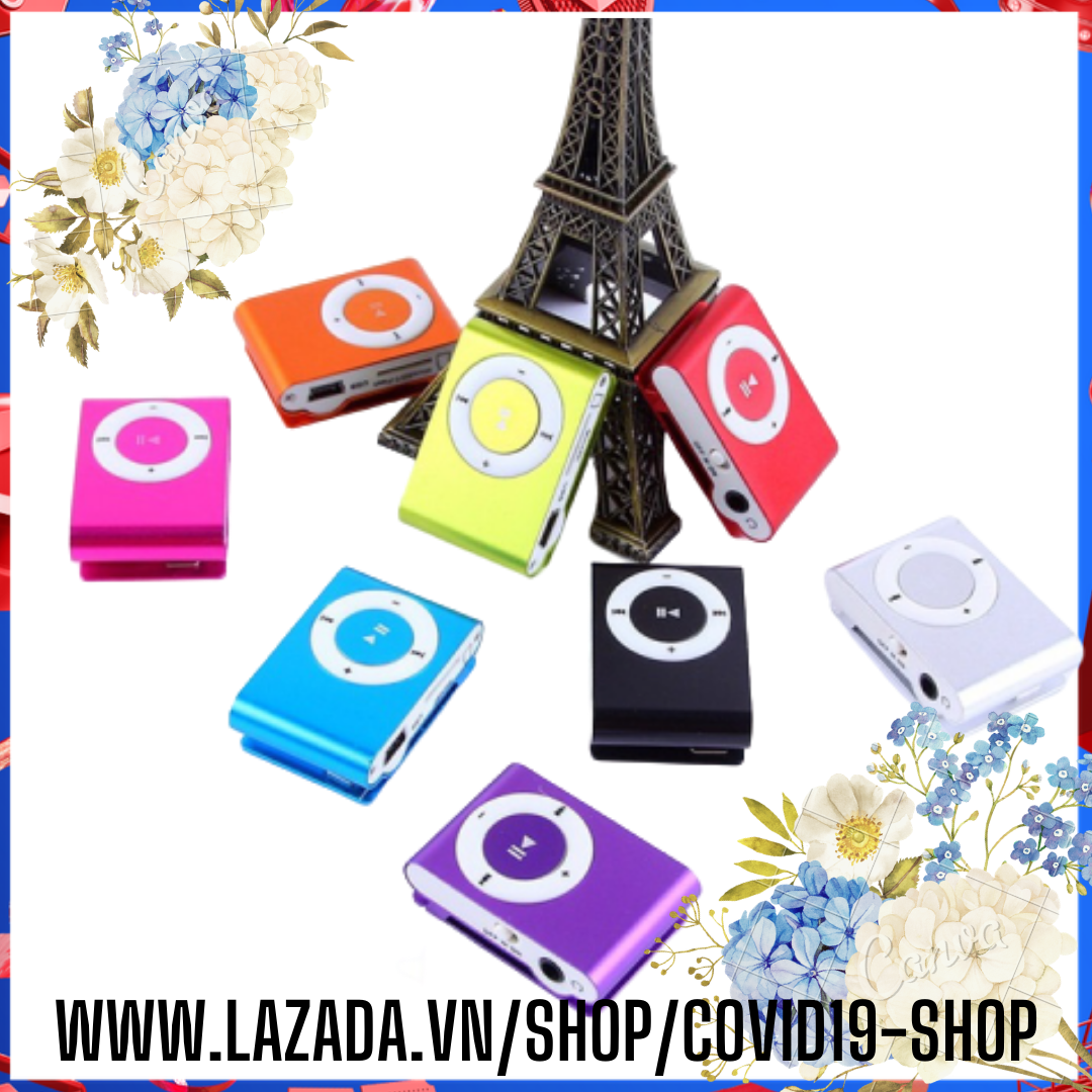 ( Cam kết uy tín, chất lượng ) Máy nghe nhạc MP3 vỏ thép + cáp sạc