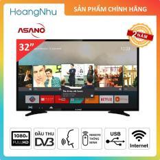 Smart Voice TV Asano 32 inch 32EK3 (Tivi thông minh, Wifi, Full HD, Điều khiển giọng nói, Tích hợp đầu thu KTS) – Bảo hành 2 năm