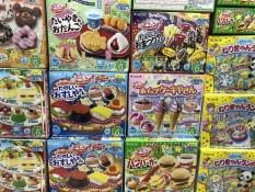 Popin Cookin bộ đồ chơi làm bánh của Nhật. Nhiều mẫu